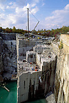 Rock of Ages granite quarry in Barry, Vermont, USA