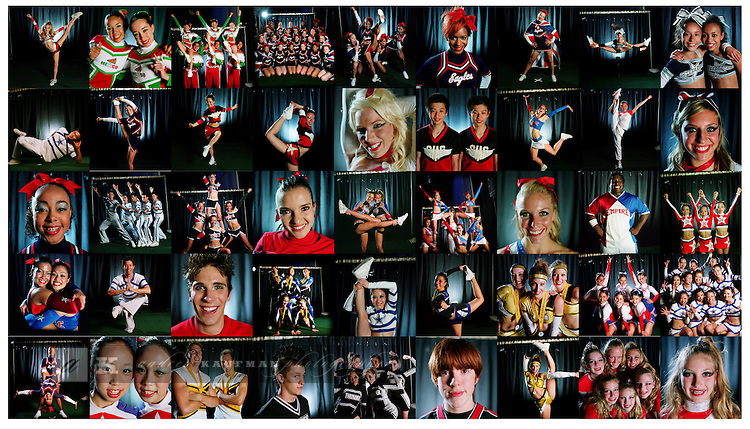 Cheerleaders from over 20 countries compete at the World Cheerleading Championships at Disney's Wide World of Sports. Each team from around the world gets 3 and 1/2 minutes to show their stuff. Teams came from all of the US, Canada, China, Chile, Columbia, Germany, Scotland, England, France, Mexico and many others.