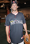 Jon Hamm at the MLB All Star Fanfest Batting Practice held at The Anaheim Convention Center , the precursor to The All Star Legends Celebrity Softball game in Anaheim, California on July 11,2010                                                                               © 2010 Debbie VanStory / Hollywood Press Agency
