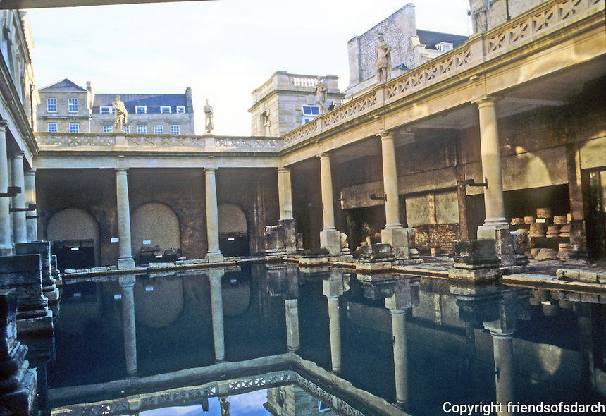 Bath: Roman Baths.