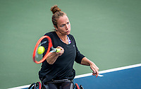 Amstelveen, Netherlands, 7 Augustus, 2021 National Tennis Center, NTC, NKR, National  Wheelchair Tennis Championships, Women's single final :  Jiske Griffioen (NED)<br /> Photo: Henk Koster/tennisimages.com