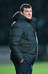 St Johnstone v Rangers…28.12.16     McDiarmid Park    SPFL<br />Saints boss Tommy Wright<br />Picture by Graeme Hart.<br />Copyright Perthshire Picture Agency<br />Tel: 01738 623350  Mobile: 07990 594431