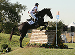 02 October 2010.  Nicole Wilson and Opposition Buzz at jump #13 Fort Boonesboro.