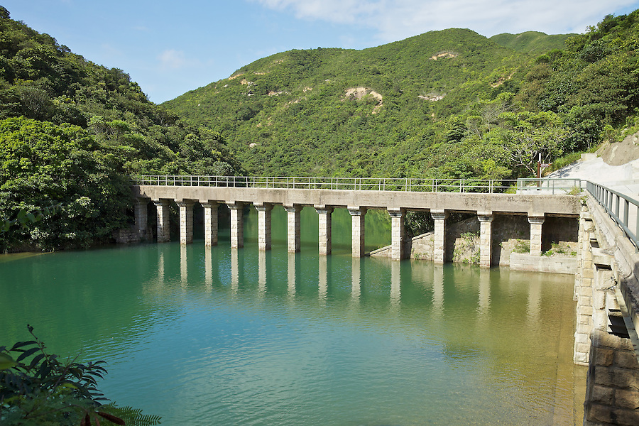 Masonry aqueduct of the Tai Tam Upper Reservoir (1883-1888).<br /> <br /> Twenty-one structures (together with the Bowen Road aqueduct) make up he 88th Declared Monument on Hong Kong Island.