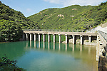 Masonry aqueduct of the Tai Tam Upper Reservoir (1883-1888).<br />