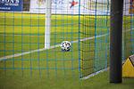 Der Ball ist zum zweiten mal im Tor, der SV Waldhof führt 2:0 beim Spiel in der 3. Liga, SV Waldhof Mannheim - FC Ingolstadt.<br /> <br /> Foto © PIX-Sportfotos *** Foto ist honorarpflichtig! *** Auf Anfrage in hoeherer Qualitaet/Aufloesung. Belegexemplar erbeten. Veroeffentlichung ausschliesslich fuer journalistisch-publizistische Zwecke. For editorial use only. DFL regulations prohibit any use of photographs as image sequences and/or quasi-video.