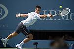 Novak Djokovic (SRB) defeats Paul-Henri Mathieu (FRA) 6-1, 6-3, 6-1