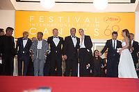 Sean Penn, Hopper Jack Penn, Zubin Cooper, Jared Harris, Jean Reno, Charlize Theron, Javier Bardem, Adele Exarchopoulos - CANNES 2016 - DESCENTE DU FILM 'THE LAST FACE'