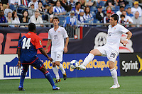 Santino Quaranta (20) of the United States (USA) plays the ball. The United States and Haiti played to a 2-2 tie during a CONCACAF Gold Cup Group B group stage match at Gillette Stadium in Foxborough, MA, on July 11, 2009. .