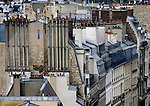 ueber den Daechern von Paris, Rooftops *<br /> <br /> **HighRes auf Anfrage, VOE nur nach Ruecksprache***<br /> <br />  ***Keine Social_Media Nutzung***<br /> <br /> Engl.: Europe, France, Paris, above the roofs of Paris, rooftops, houses, chimneys, May 2014<br /> ***Highres on request, publication only after consultation with laif***<br /> ***No use in social media***