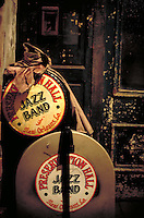 Preservation Hall Jazz Band instrument cases