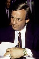 La legende du Hockey, ancien numero 10 du Canadien de Montreal<br />  Guy Lafleur, circa 1988. <br /> <br /> <br /> Canadian hockey legend Guy Lafleur, circa 1988<br /> <br /> FILE PHOTO : Agence Quebec Presse