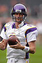 BROOKS BOLLINGER, of the Minnesota Vikings, in action during the Vikings games against the Chicago Bears, in Chicago, IL on October 14, 2007.  The Vikings won the game 34-31...........