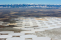 San Luis Valley, winter crop circles.  Oct 2009