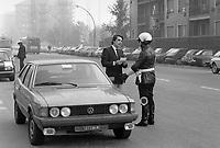 - Milano 1984, Vigili Urbani<br /> <br /> - Milan 1984, traffic police