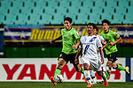 Myojin of Gamba Osaka (R), Keunho of Jeonbuk Hyundai Motors (L)Jeonbuk Hyundai Motors vs Gamba Osaka during the 2015 AFC Champions League Quarter-Final 1st Leg match on August 26, 2015 at the Jeonju World Cup Stadium, in Jeonju, Korea Republic. Photo by Xaume Olleros /  Power Sport Images