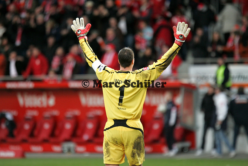 Siegesjubel Dimo Wache (FSV Mainz 05)