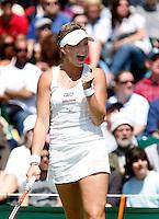 29-6-07,England, Wimbldon, Tennis, Michaella Krajicek plaats zich voor de vierde ronde