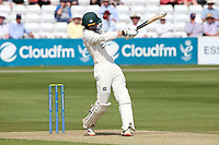 Lyndon James of Nottinghamshire is struck on the helmet by a Paul Walter delivery during Essex CCC vs Nottinghamshire CCC, LV Insurance County Championship Group 1 Cricket at The Cloudfm County Ground on 3rd June 2021