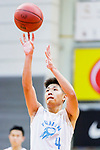Lam Yu #4 of Fukien Basketball Team concentrates prior to a free throw during the Hong Kong Basketball League game between Fukien and Eastern Long Lions at Southorn Stadium on June 19, 2018 in Hong Kong. Photo by Yu Chun Christopher Wong / Power Sport Images