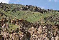 - mountain landscape near the Erzurum town (south-oriental Turkey, Turkish Kurdistan) ..- paesaggio di montagna nei pressi della città di Erzurum (Turchia sud-orientale, Kurdistan turco)