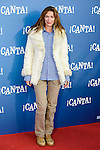 """Cristina Piaget attends to the premiere of the film """"¡Canta!"""" at Cines Capitol in Madrid, Spain. December 18, 2016. (ALTERPHOTOS/BorjaB.Hojas)"""