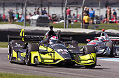 Verizon IndyCar Series<br /> IndyCar Grand Prix<br /> Indianapolis Motor Speedway, Indianapolis, IN USA<br /> Saturday 13 May 2017<br /> Charlie Kimball, Chip Ganassi Racing Teams Honda<br /> World Copyright: Geoffrey M. Miller LAT Images