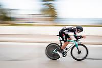 Robert Stannard (AUS/BikeExchange)<br /> <br /> Final stage 7 (ITT) from San Benedetto del Tronto to San Benedetto del Tronto (10.1km)<br /> <br /> 56th Tirreno-Adriatico 2021 (2.UWT) <br /> <br /> ©kramon