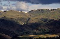 Amérique/Amérique du Sud/Pérou/Env de Cuzco : Vue sur les Andes
