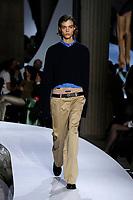 OCT 2021 Miu Miu SS 2022 RTW catwalk fashion show at Paris Fashion Week