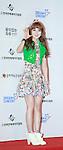 HEYNE, Jun 07, 2014 : K-pop singer Heyne poses before the Dream Concert in Seoul, South Korea. (Photo by Lee Jae-Won/AFLO) (SOUTH KOREA)