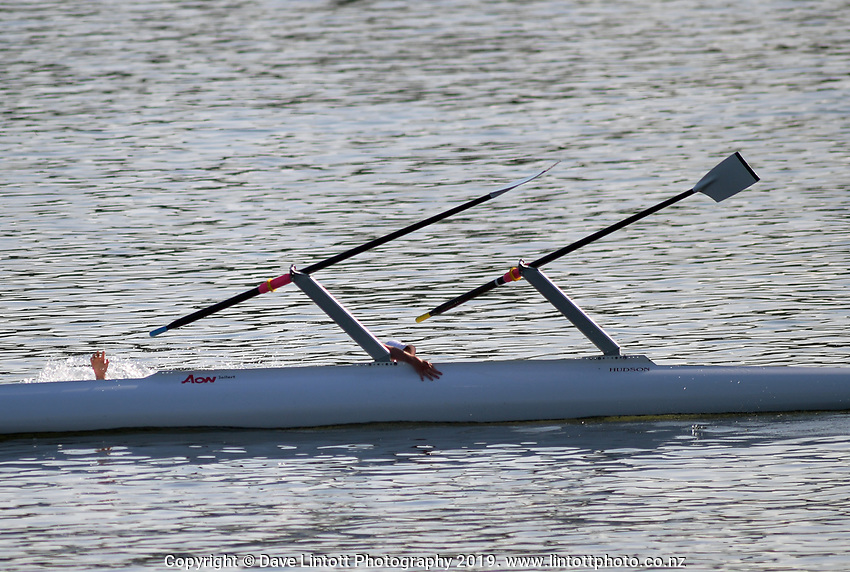 KRI Cambridge Town Cup & Nth Island Club Rowing Champs at Lake Karapiro in Camridge, New Zealand on Saturday, 25 January 2020. Photo: Dave Lintott / lintottphoto.co.nz