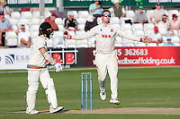 Simon Harmer in bowling action for Essex during Essex CCC vs Gloucestershire CCC, LV Insurance County Championship Division 2 Cricket at The Cloudfm County Ground on 6th September 2021