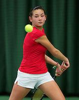 March 14, 2015, Netherlands, Rotterdam, TC Victoria, NOJK, Roos van Reek (NED)<br /> Photo: Tennisimages/Henk Koster