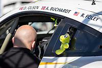 #46 TEAM PROJECT 1 - Porsche 911 RSR - 19: Dennis Olsen - Anders Buchardt - Robert Foley, 24 Hours of Le Mans , Saturday Set Up, Circuit des 24 Heures, Le Mans, Pays da Loire, France