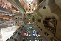 Spanien, Barcelona, Sagrada Familia von Antoni Gaudi, Unesco-Weltkulturerbe