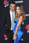 Jessica Alba and Cash Warren attends The Dimension Film's L.A. Premiere of FRANK MILLER'S SIN CITY: A DAME TO KILL FOR held at  The TCL Chinese Theatre in Hollywood, California on August  19,2014                                                                               © 2014 Hollywood Press Agency
