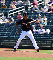 Triston McKenzie - Cleveland Indians 2021 spring training (Bill Mitchell)