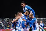 CD Leganes's  Jonathan Silva, Youssef En-Nesyri, Oscar Rodriguez Arnaiz and Martin Braithwaite during La Liga match 2019/2020 round 16<br /> December 8, 2019. <br /> (ALTERPHOTOS/David Jar)