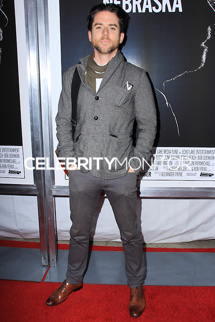 """NEW YORK, NY - NOVEMBER 06: Christian Campbell New York Special Screening of Paramount Pictures' """"Nebraska"""" held at Paris Theater on November 6, 2013 in New York City. (Photo by Jeffery Duran/Celebrity Monitor)"""