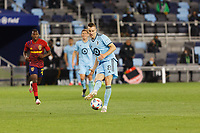 SAINT PAUL, MN - APRIL 24: Jan Gregus #8 of Minnesota United FC passes the ball during a game between Real Salt Lake and Minnesota United FC at Allianz Field on April 24, 2021 in Saint Paul, Minnesota.