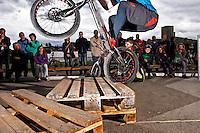 Eroeffnungsfeier vom Trial Club Snakebite VTCL auf der Allmend Luzern am 4.Mai 2013 / Opening ceremony of the Trial Club Snakebite VTCL on the Allmend Lucerne on May 4, 2013..Copyright © Zvonimir Pisonic