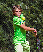 Hilversum, Netherlands, August 7, 2017, National Junior Championships, NJK, Rein Koenders<br /> Photo: Tennisimages/Henk Koster
