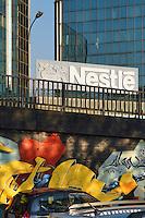 - palazzo uffici sede centrale della società Nestlé Italia....- office palace headquarters of the Nestlé Italy society ....
