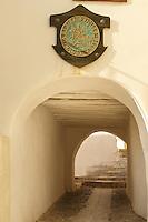 Entrance of Ano Syros,   Syros Island [ ????? ] , Greek Cyclades Islands