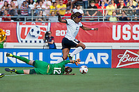 Sydney Leroux, Thais.  The USWNT defeated Brazil, 4-1, at an international friendly at the Florida Citrus Bowl in Orlando, FL.