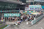 05 Apr 2009, Kuala Lumpur, Malaysia --- General view of the paddock during the 2009 Fia Formula One Malasyan Grand Prix at the Sepang circuit near Kuala Lumpur. Photo by Victor Fraile --- Image by © Victor Fraile / The Power of Sport Images