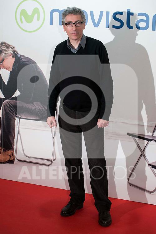 "David Trueba attends to the premire of the film ""Que fue de Jorge Sanz"" at Cinesa Proyecciones in Madrid. February 10, 2016."