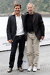 Film director Francois Ozon and the actor Fabrice Luchini attend the photocall of 'Dans La Maison' during the 60th San Sebastian Donostia International Film Festival - Zinemaldia.September 23,2012.(ALTERPHOTOS/ALFAQUI/Acero)