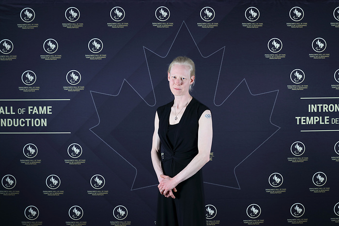 Vancouver, B.C. - November 15th, 2019 - Viviane Forest was one of the seven people inducted at the 2019 Canadian Paralympic Hall of Fame Induction Ceremony. Photo: Lydia Nagai/Canadian Paralympic Committee
